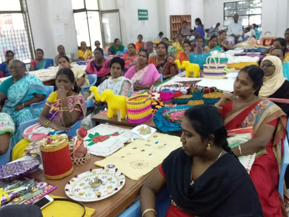 Women Reader's Forum organised Handi Crafts Exhibition