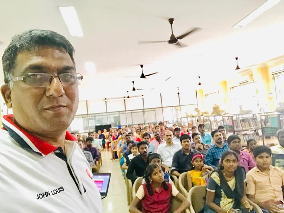 Workshop on Master your Mind -trichy library2