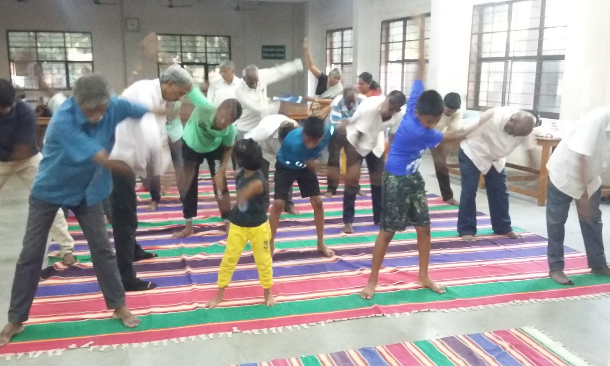 ஒவ்வொரு வெள்ளிக்கிழமைகளிலும் யோகா பயிற்சி வகுப்பு வழங்கப்பட்டு வருகிறது இப்பயிற்சியினை யோகா மாஸ்டர் திரு.நன்மாறன் பயிற்சி வழங்கினார்.